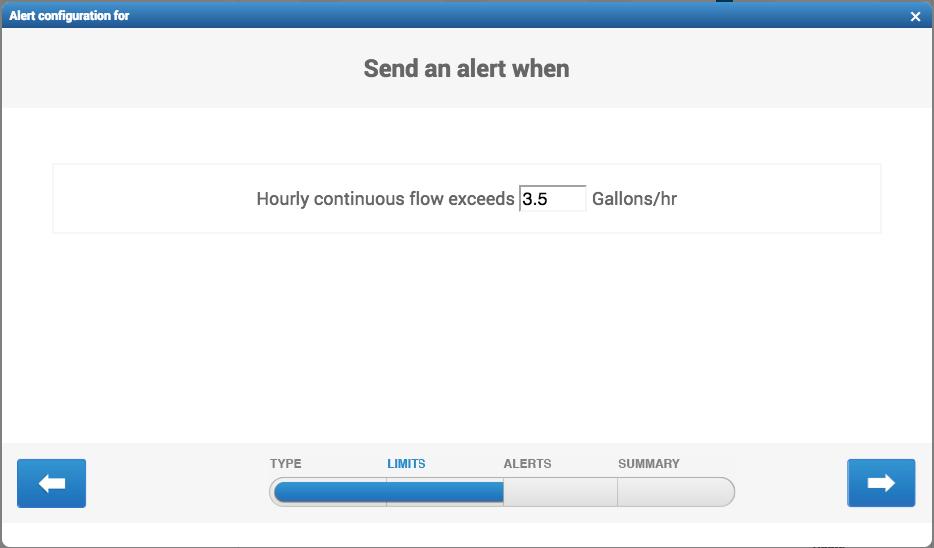 Intermittent Flow Max alert